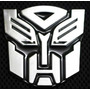 Adesivo Transformers Autobot Tuning Pvc Emblema Novo