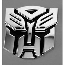 Adesivo Tuning Pvc Transformers Autobot Emblema Carro