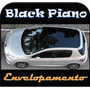 Adesivo Vinil Envelopamento Automotivo Black Piano