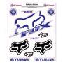 Adesivo Refletivo Moto Capacete Carro Yamaha Fox Fretegrátis