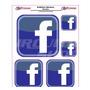 Adesivo Refletivo Moto Capacete Carro Facebook M2 Fretgratis