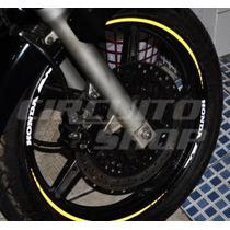 Friso Adesivo Refletivo Rec07 Roda Moto Honda Biz 125 100