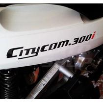 Adesivo Rabeta Relevo Dafra Sym Citycom 300i + Frete Grátis