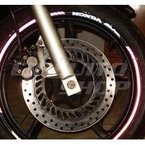 Friso Adesivo Refletivo Rec09 Roda Moto Honda Biz 125 100