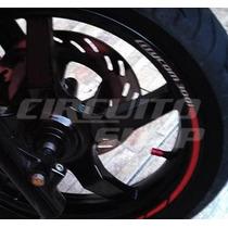 Friso Adesivo Refletivo Roda Moto R02 Dafra Sym Citycom 300i