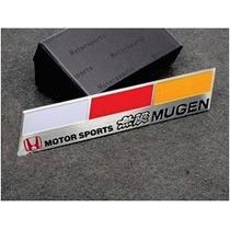 Emblema Honda Mugen Power Civic Crv Vti Si City Accord !!!!