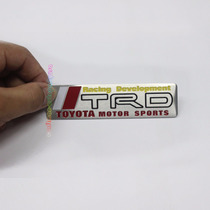 Emblema Em Metal Toyota Trd - Mortorsports Corolla, Etios!!!