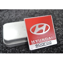 Emblema Hyundai Hb20 Veloster I30 Elantra Azera Sonata Ix35