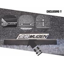 Emblema Honda Mugen Si Civic Modelo Exclusivo Grade!!!
