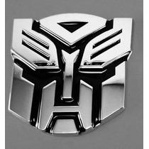 Adesivo Tuning Liga De Metal Transformers Autobot Emblema