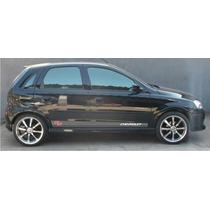 Faixas Laterais Chevrolet Corsa Ss Adesivo Tuning Carro