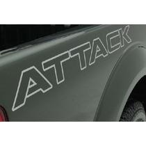 Adesivos Nissan Frontier Attack 2012