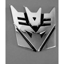 Adesivo Tuning Liga De Meta Transformers Decepticons Emblema