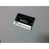 Emblema Logo Vw Gol Quadrado !!