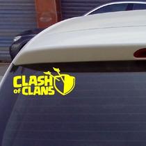 Clash Of Clans Adesivo Personalizado Com O Nome Do Seu Clã