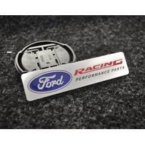 Emblema Ford Racing Focus Mustang Fusion Turbo Fiesta Ghia!