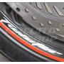 Kit Adesivo Roda Moto Honda Cbx 250 Twister T + Frete Grátis