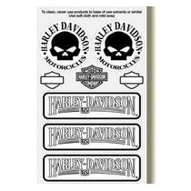 Adesivo Refletivo Capacete Moto Harley Davidson M3 Fret Free