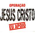 Adesivo De Carro - Operação - Jesus Cristo - Eu Apoio