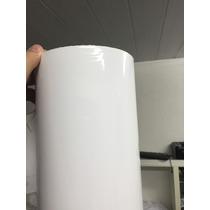 Vinil Adesivo Branco Brilhante Premium 1metro X 2metros