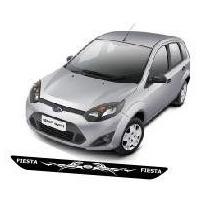 Protetor Soleira T02 Porta Carro Ford Fiesta + Frete Grátis