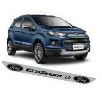Protetor Adesivo Soleira M01 Porta Carro Ford Ecosport