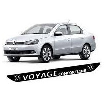 Protetor Soleira M2 Porta Carro Volkswagen Voyage Frete Free