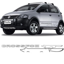 Adesivo Faixa Raposa Carro Volkswagen Crossfox Frete Grátis