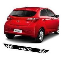 Protetor Soleira D02 Porta Carro Hyundai Hb20 + Frete Grátis
