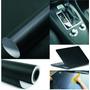 Adesivo Fibra De Carbono Moldavel - Preta 30x50cm - Confira