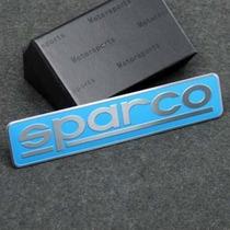 Emblema Sparco Gol Golf Vw Punto Jetta Audi Sonic Bmw!