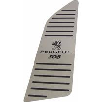 Descanso De Pé Aço Inox Premium Peugeot 308 !!!