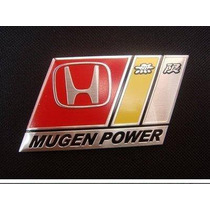 Emblema Honda Mugen Power Civic Crv Vti Si City Accord !!!!