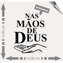 Adesivos Automotivos Nas Mãos De Deus