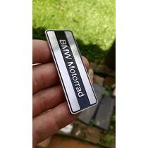 Emblema Bmw Motorrad Moto Carro Topcase Inox Importado