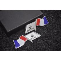 Emblema Renault Clio Fluence Sandeiro - França Laterais !!!