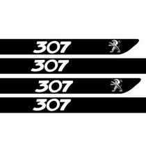 Adesivo Protetor Soleira Carro Peugeot 307 M1 + Frete Grátis