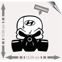 Adesivo Automotivo Química Hyundai.