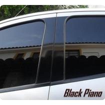 Adesivo Black Piano Blackout Coluna Portas