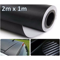 Adesivo Para Envelopamento Fibra De Carbono 2m X 1m