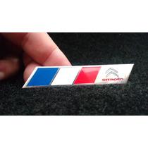 Emblema Badge Em Metal Citroen França Alta Qualidade!