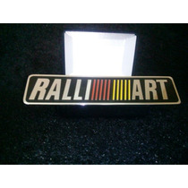 Emblema Mitsubishi Ralliart L200 Triton Pajero Lancer Asx !!