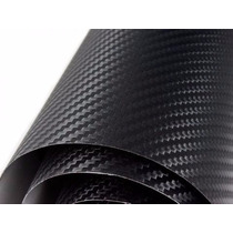 Adesivo Envelopamento Carro Moto Fibra De Carbono 0,50x122