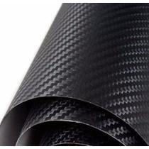 Envelopamento Fibra Carbono Teto Ou Capo 1,80x1,22 Metros
