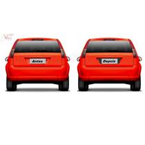 Adesivo Ford Fiesta Rocam Placa 2003 A 2013 Modelo Até 2014