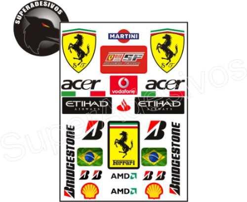 Adesivos Ferrari + Frete Grátis