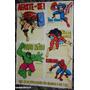 Marvel Cartela De Adesivos1 Capitão América Thor Hulk Aranha
