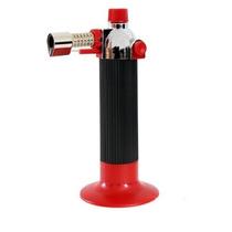Mini Maçarico Gás Recarregável Acendimento Automático