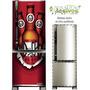 Adesivo Geladeira Duff Beer # 02 (freezer Vertical Completo)