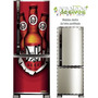 Adesivo Geladeira Duff Beer # 02 (porta Freezer Vertical)